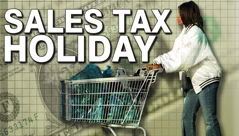 Show-Me Green Sales Tax Holiday runs Friday, April 19th through April 25th.